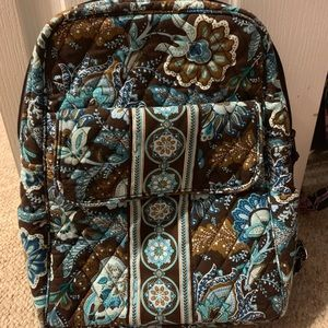 Vera Bradley Java Blue Small Back Pack